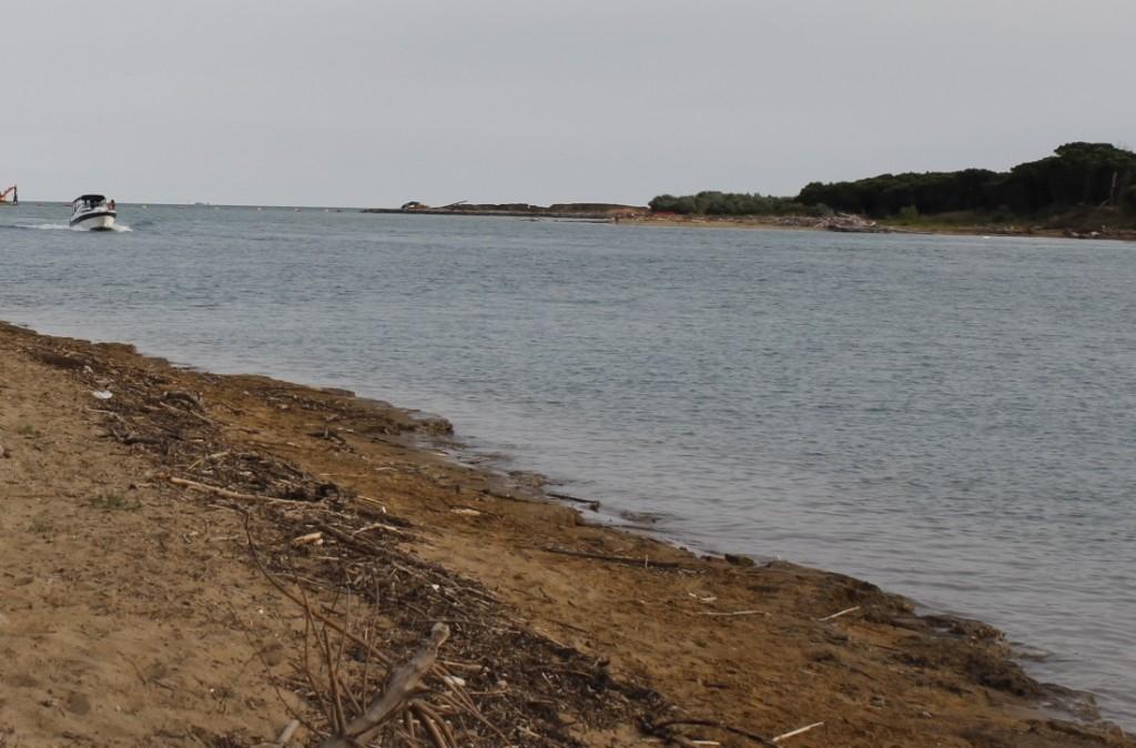 La plage de sable d'or de Lignano sabbiadoro
