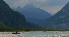 Itinérance canoë sur le Tagliamento (Italie)
