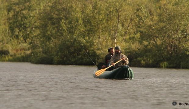 Sur le Karasjokka, à la découverte des rivières de Cromagnon
