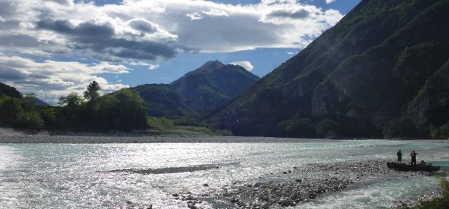 The Tagliamento River, the last free Alpine river?