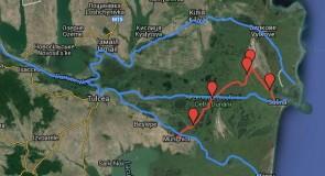 Topo-guide : Danube delta