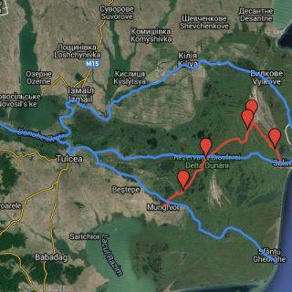 Topo-guide : le delta du Danube