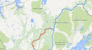 Topo-guide : Karasjokka river