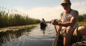 Itinérance canoë dans le delta du Danube (Roumanie)