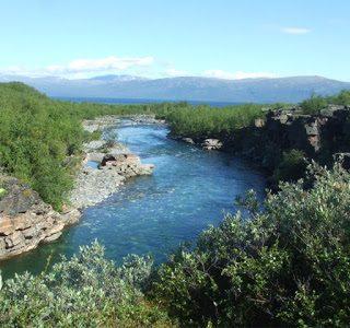 Itinérance canoë en Laponie suédoise
