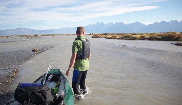 De la cordillère des Andes à l'océan atlantique sur le Rio Santa Cruz