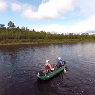 Regardez le film de notre expédition sur le Karasjokka !