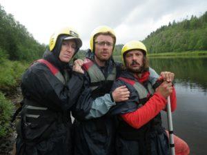 Destination rivières de retour en Laponie
