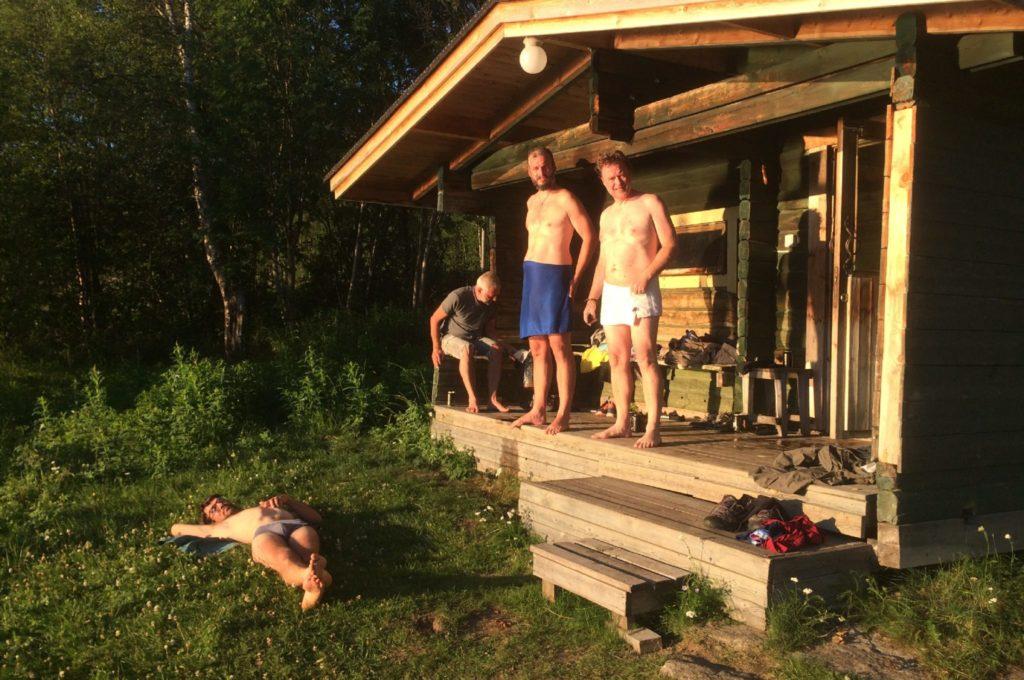 Sauna pour se décrasser !