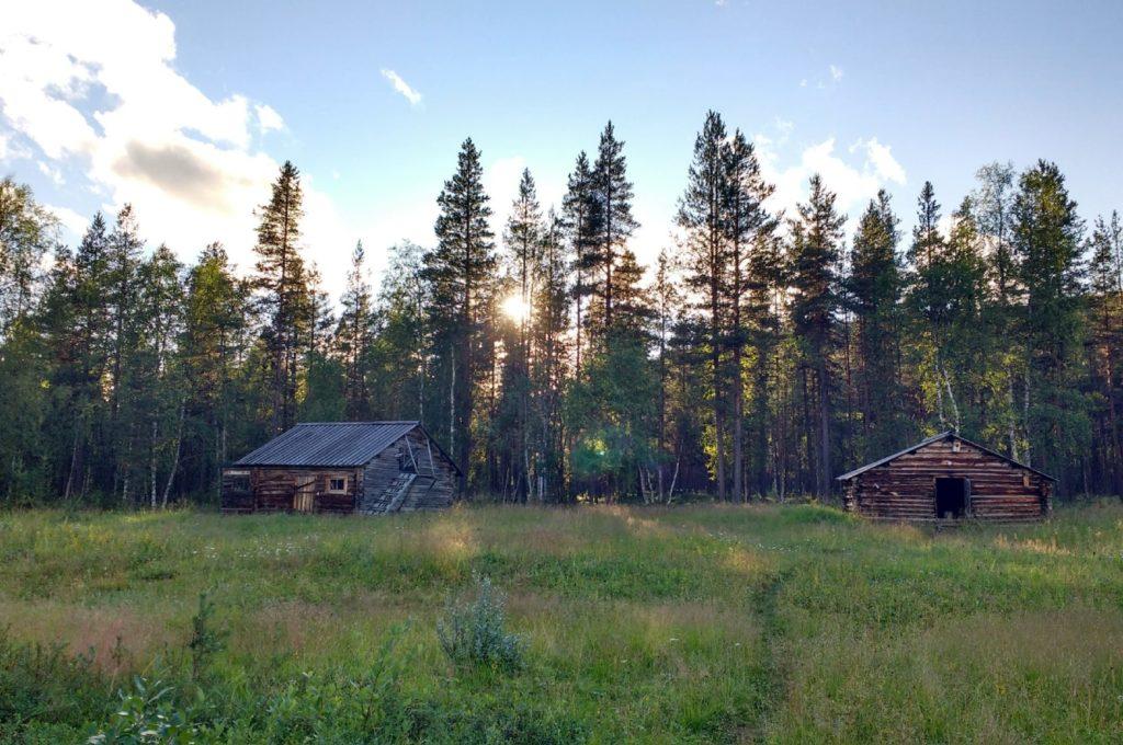 Nouveau camp aménagé