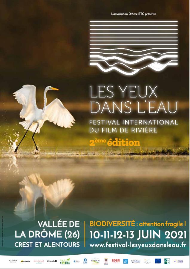 Affiche Festival les Yeux dans l'eau